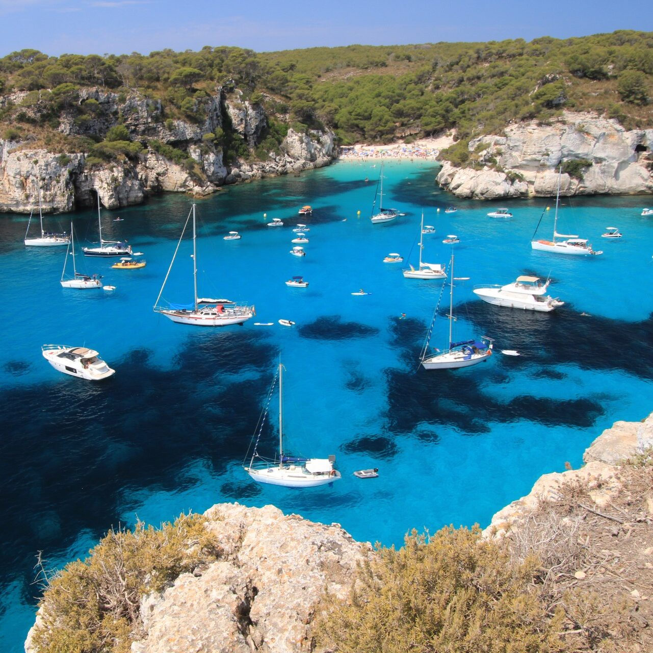 Cala Macarella – The beach without hotels and shops around