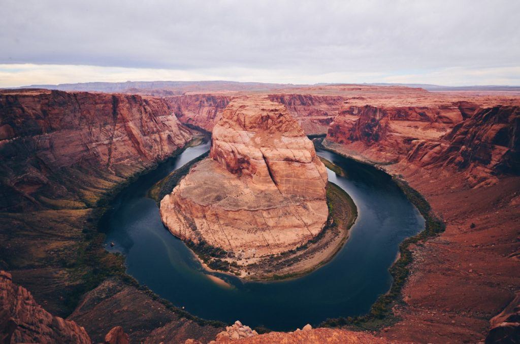 The Horseshoe Bend. Picture from Quentin DR