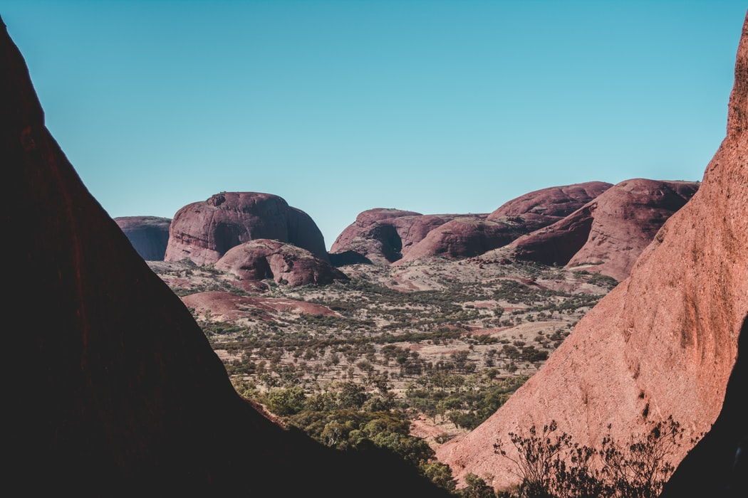 Kata Tjuta, close to Uluru. Picture from Karl JK Hedin