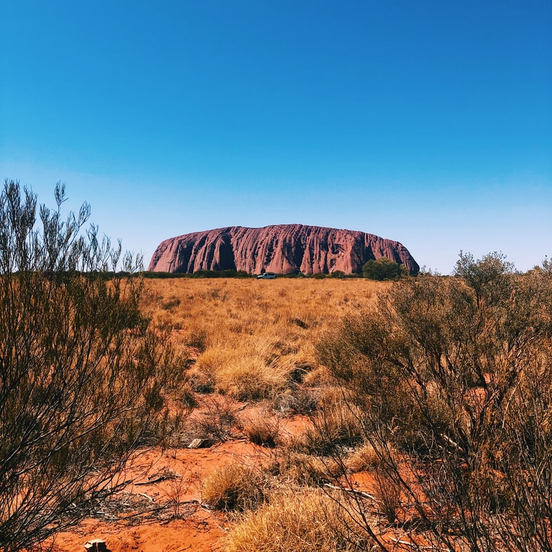Uluru. Picture from Kyle Hinkson