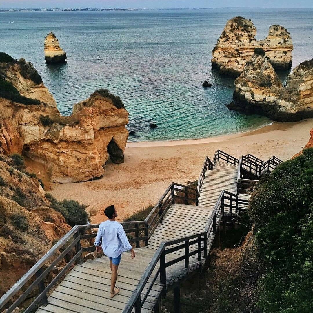 Praia do Camilo – One of the Most Beautiful Beaches of Algarve