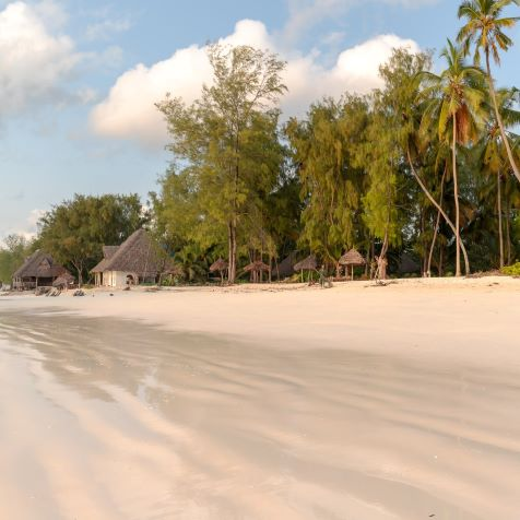 white beach in expensive zanzibar