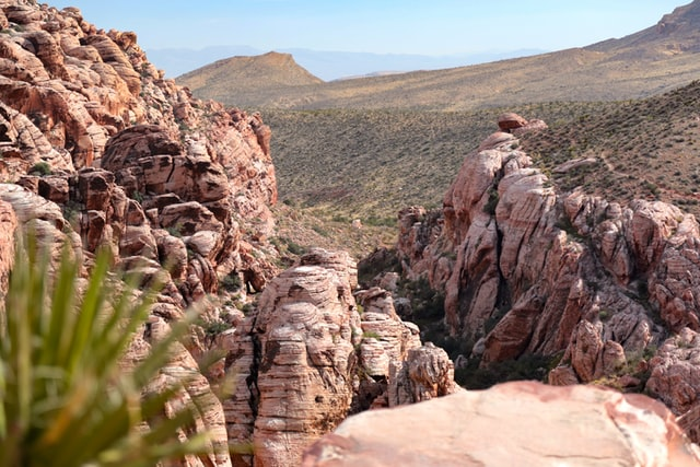 red rock formation at daytime picture