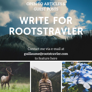 WRITE FOR ROOTSTRAVLER